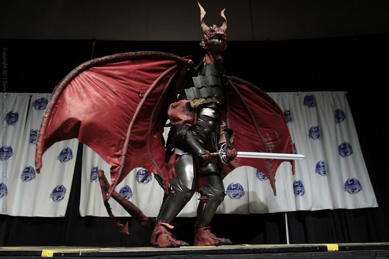 Dragon Costume at the Masquerade Costume Contest