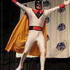 Space Ghost at the From the Page to the Stage: Comic Book Pageant