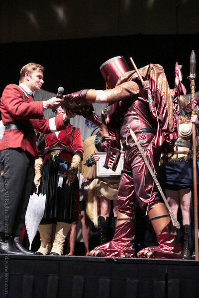 Dragon Winning Costumes in the Masquerade at DragonCon 2013
