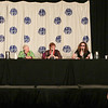 Mercedes Lackey, Chelsea Quinn Yarbro, Nancy Knight, Laurell K. Hamilton, and Sherrilyn Kenyon at DragonCon 2013