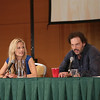 Claire Coffee and Silas Weir Mitchell of Drimm at DragonCon 2013