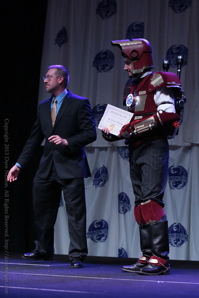 Winning Costumes at the Friday Night Costume Contest at DragonCon 2013