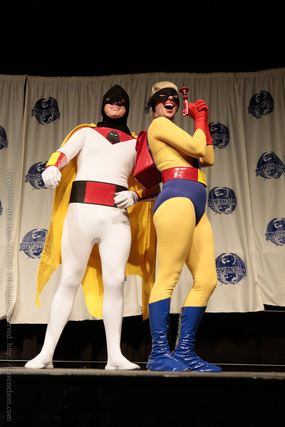 Space Ghost Costume at From the Page to the Stage: Comic Book Pageant at DragonCon 2013