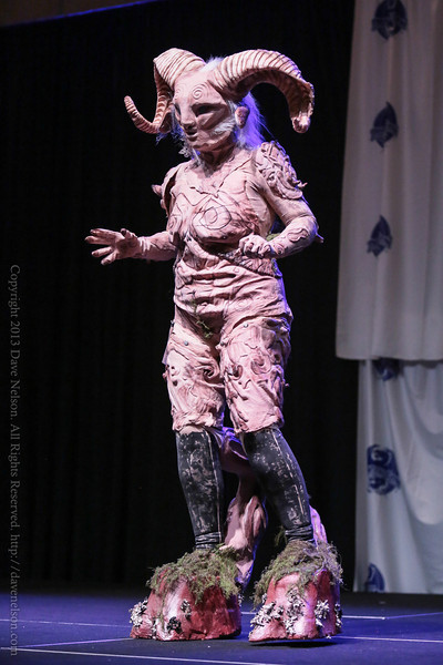 Pan's Labrynth Costume at the Friday Night Costume Contest at DragonCon 2013