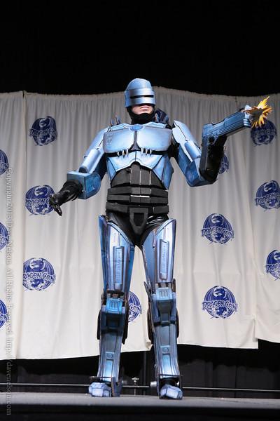 RoboCop Costume in the Masquerade at DragonCon 2013