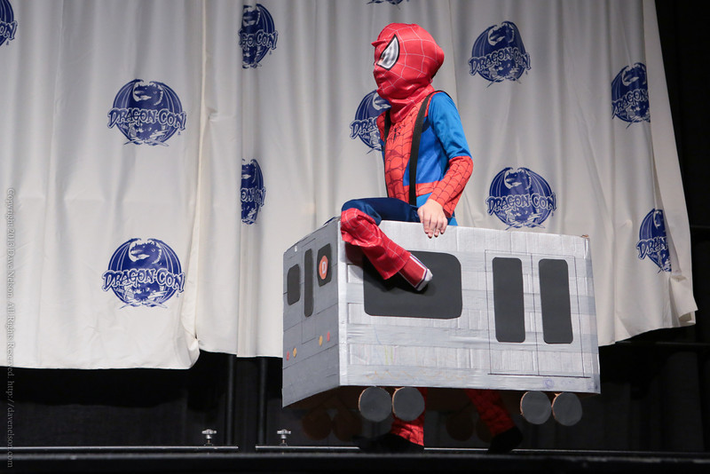 Spider Man Costume in the Masquerade at DragonCon 2013