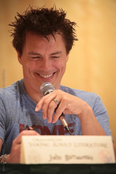 John Barrowman at DragonCon 2013