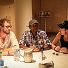 Kris Holden-Ried, K.C. Collins, and Paul Amos of Lost Girl at DragonCon 2013