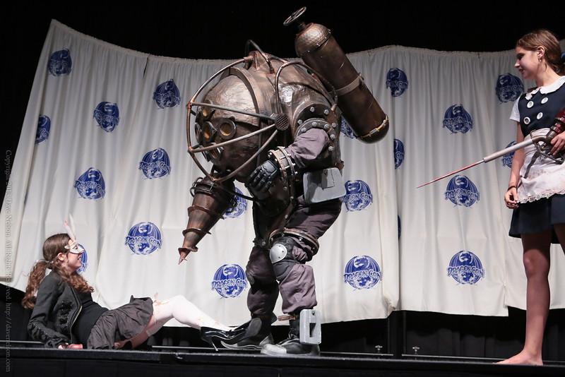 Bioshock Costume in the Masquerade at DragonCon 2013
