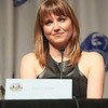 Lucy Lawless of Battlestar Galactica at DragonCon 2013