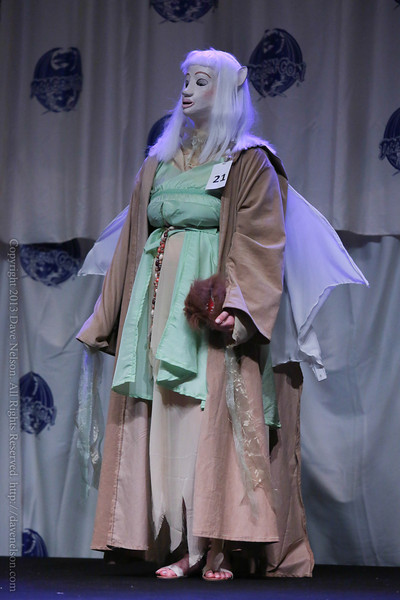 Costume at the Friday Night Costume Contest at DragonCon 2013