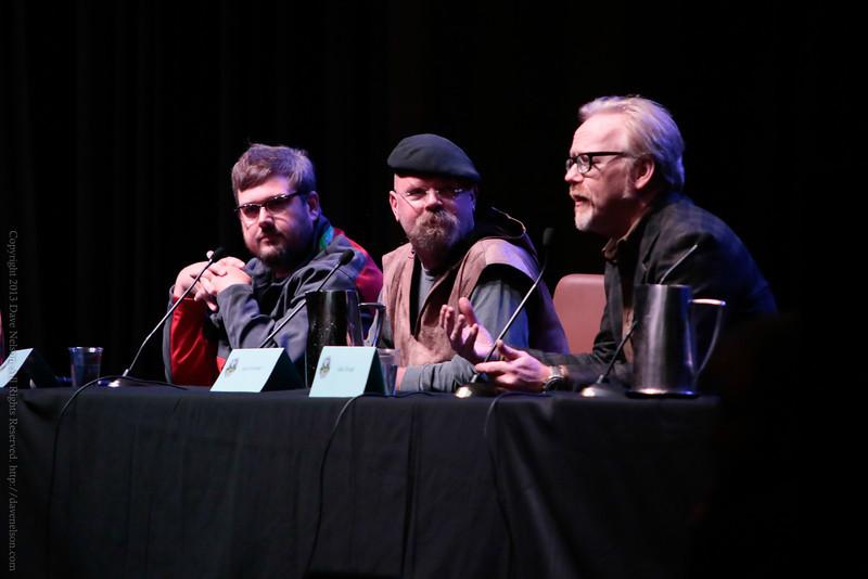 The Mythbusters Jamie Hyneman and Adam Savage at DragonCon 2013