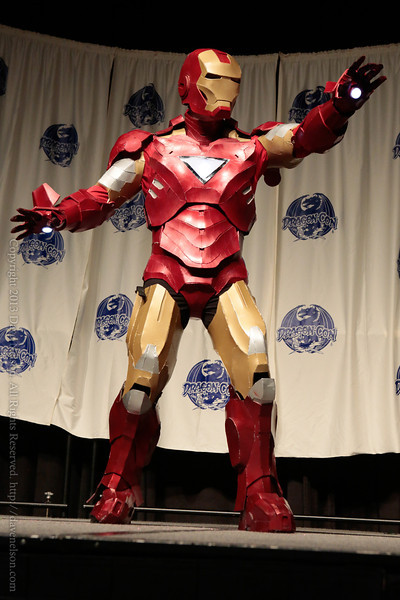 Iron Man Costume at From the Page to the Stage: Comic Book Pageant at DragonCon 2013