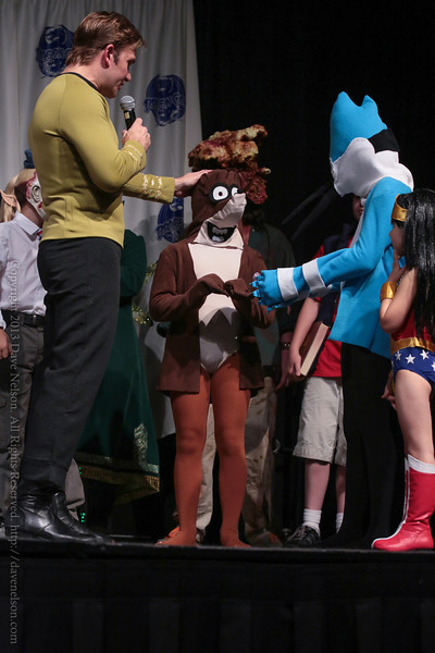Children Winning Costumes in the Masquerade at DragonCon 2013