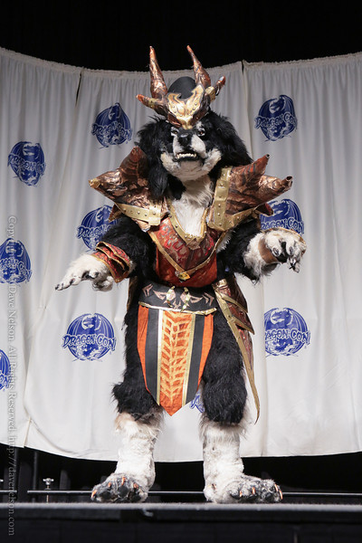 Costume in the Masquerade at DragonCon 2013