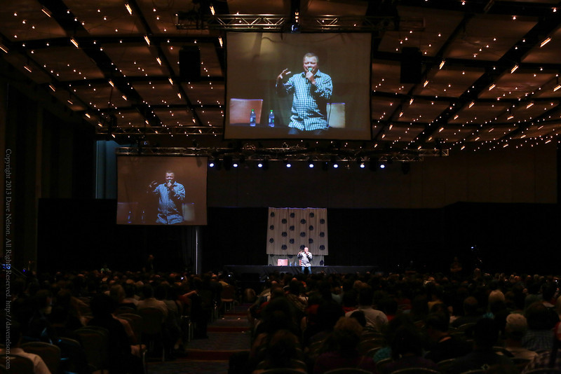 William Shatner at DragonCon 2013