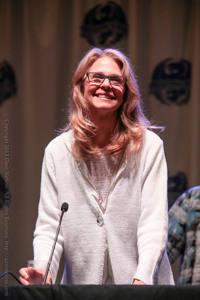 Lindsey Wagner of The Bionic Woman at DragonCon 2013