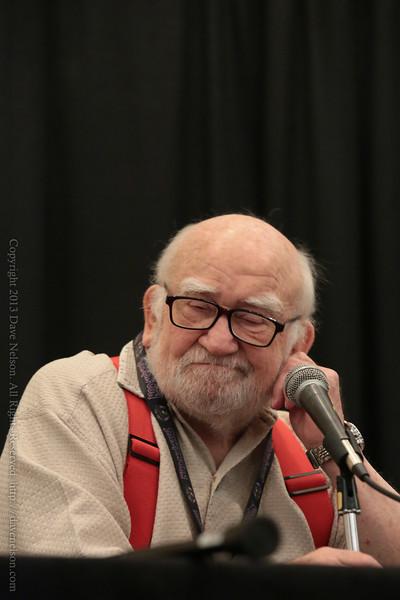Ed Asner at DragonCon 2013