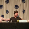 CCH Pounder, Eddie McClintock, and Genelle Williams of Warehouse 13 at DragonCon 2013. Eddie was ver upset when talking about the end of WH13.