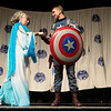 Winning Costumes at the From the Page to the Stage: Comic Book Pageant at DragonCon 2013
