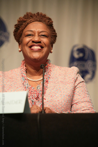 CCH Pounder of Warehouse 13 at DragonCon 2013