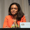 Kandyse McClure of Battlestar Galactica at DragonCon 2013