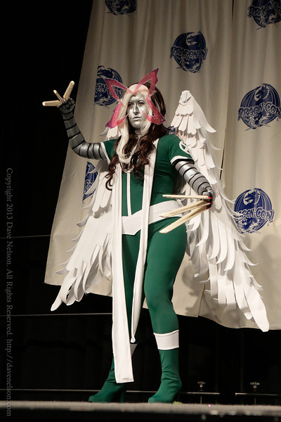 Rogue Costume at From the Page to the Stage: Comic Book Pageant at DragonCon 2013