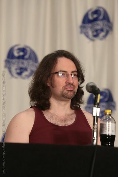 Jim Butcher at DragonCon 2013