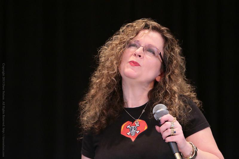 Lurel K. Hamilton at DragonCon 2013