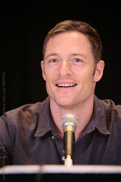 Tahmoh Penikett of Dollhouse at DragonCon 2013