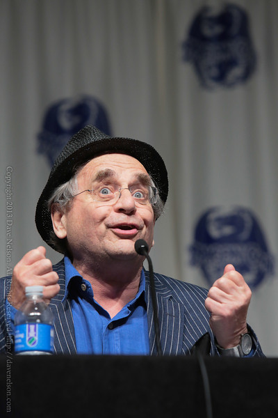 Sylvester McCoy of The Hobbit at DragonCon 2013