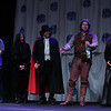 The Judges at the Friday Night Costume Contest at DragonCon 2013