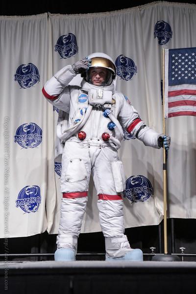 Astronaut Costume in the Masquerade at DragonCon 2013
