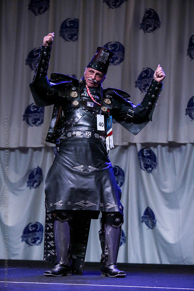 Melieger Costume at the Friday Night Costume Contest at DragonCon 2013