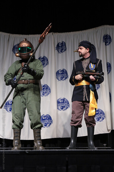 Jules Verne Costume in the Masquerade at DragonCon 2013