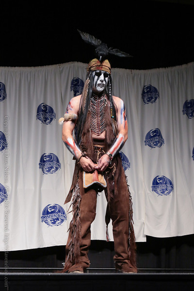 Lone Ranger Tonto Costume in the Masquerade at DragonCon 2013