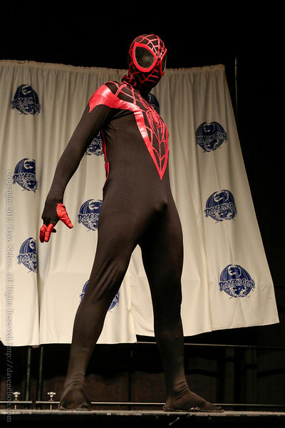 Spider Man Costume at From the Page to the Stage: Comic Book Pageant at DragonCon 2013
