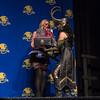 Best Marvel Costume: Eliza Eldredge as Femme Loki at The Masquerade Costume Contest at DragonCon