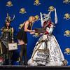 Best Villain: Rebecca Kunimoto as Maleficent at The Masquerade Costume Contest at DragonCon