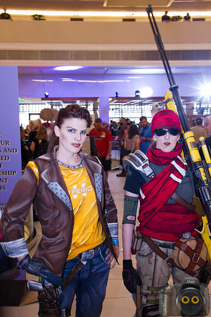 Borderlands Cosplayers at DragonCon 2015