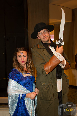 Moiraine Damodred and Matrim Cauthon Cosplay at DragonCon 2015