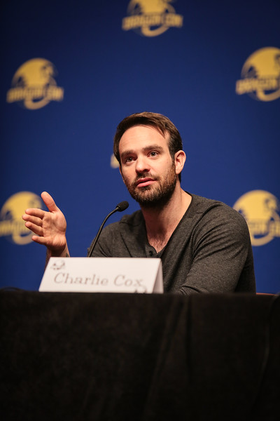Charlie Cox of Netflix's Daredevil at DragonCon 2016