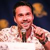 Brett Dalton on the Guests of S.H.I.E.L.D. panel at DragonCon 2016