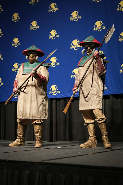 Contestants at the 2016 Dragon Masquerade