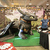 Toothless available for photos at DragonCon 2016