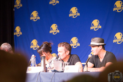 James Masters, Naoko Mori & Gareth David Lloyd