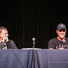Adam Baldwin and Alan Tudyk at the Firefly Guests panel at DragonCon 2016