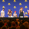 Alex Kingston, Sweetie! moderated by Aaaron J. Sagers at DragonCon 2017