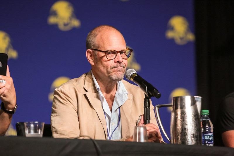 """Good Eats...The Panel with Alton Brown and his Crew at DragonCon 2017 where they announced a new show called """"Return of the Eats"""""""