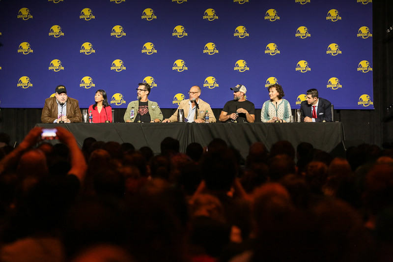 "Good Eats...The Panel with Alton Brown and his Crew at DragonCon 2017 where they announced a new show called ""Return of the Eats"""